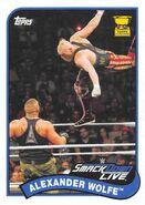 2018 WWE Heritage Wrestling Cards (Topps) Alexander Wolfe 93