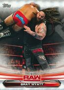 2019 WWE Raw Wrestling Cards (Topps) Bray Wyatt 13