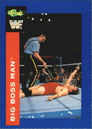 1991 WWF Classic Superstars Cards Big Boss Man 60