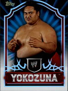2011 Topps WWE Classic Wrestling Yokozuna 90