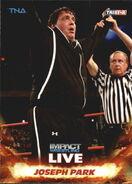 2013 TNA Impact Wrestling Live Trading Cards (Tristar) Joseph Park 36