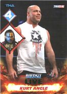 2013 TNA Impact Wrestling Live Trading Cards (Tristar) Kurt Angle 107