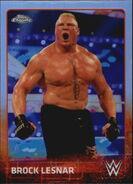 2015 Chrome WWE Wrestling Cards (Topps) Brock Lesnar 12