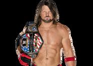 AJ Styles US title
