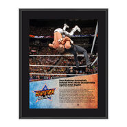 Dean Ambrose SummerSlam 2016 10 x 13 Photo Plaque