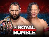 Royal Rumble 2019 Rusev v Shinsuke Nakamura