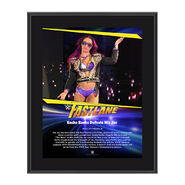 Sasha Banks FastLane 2017 10 X 13 Commemorative Photo Plaque