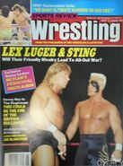 Sports Review Wrestling - October 1989