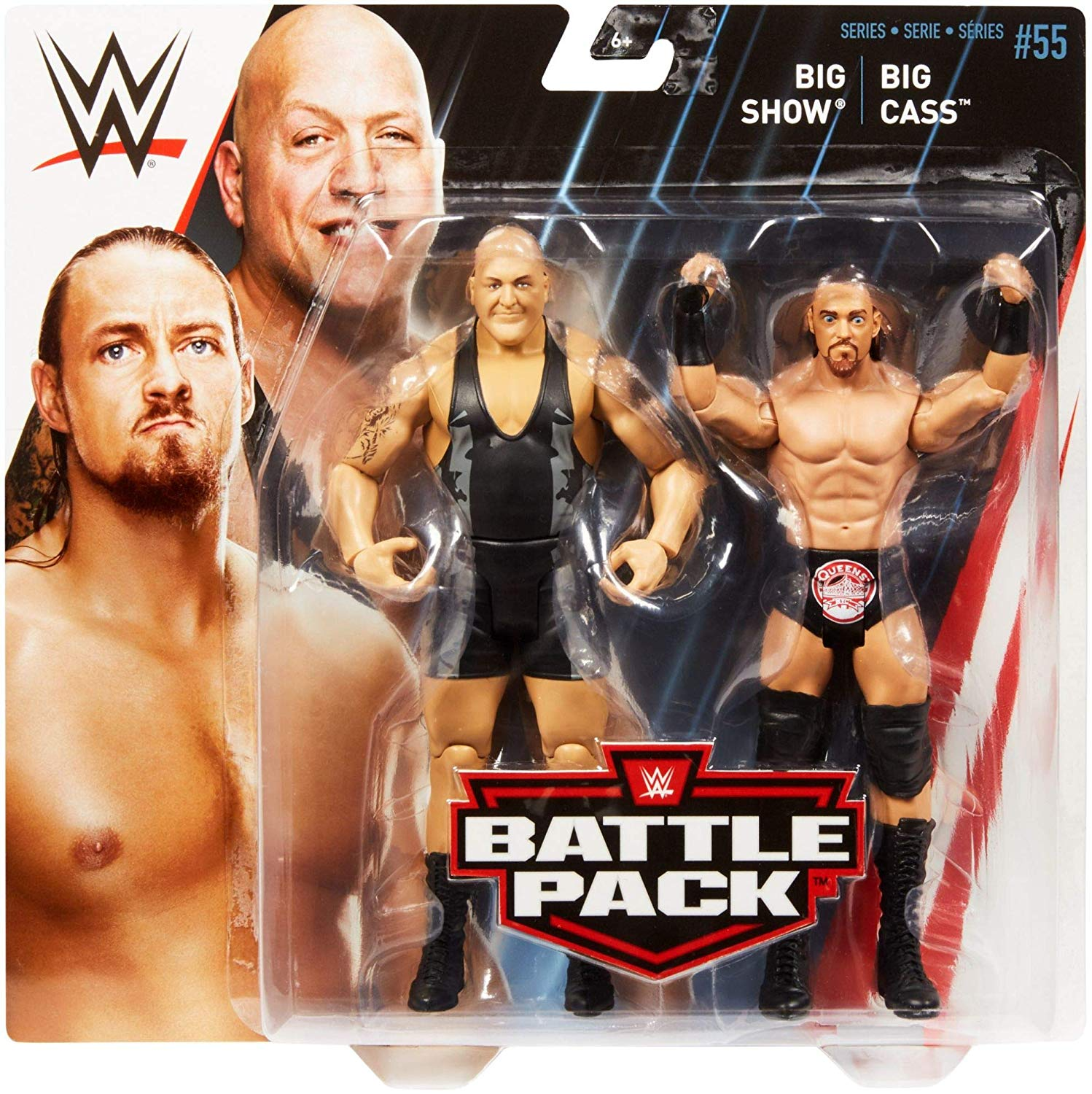 Série WWE 49 Big Cass Elite Wrestling Action Figure Toy
