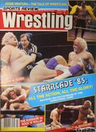 Sports Review Wrestling - March 1986