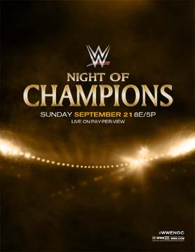 WWE NOC 2014 Promotional Poster