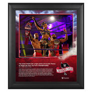 WrestleMania 36 Street Profits 15 x 17 Limited Edition Plaque
