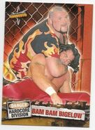 1999 WCW Embossed (Topps) Bam Bam Bigelow 52