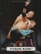 2010 WWE Platinum Trading Cards Tyson Kidd 91