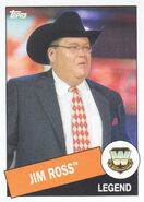 2015 WWE Heritage Wrestling Cards (Topps) Jim Ross 27