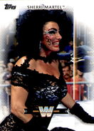 2017 WWE Women's Division (Topps) Sherri Martel 40