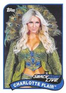 2018 WWE Heritage Wrestling Cards (Topps) Charlotte Flair 22