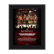 Dean Ambrose & Seth Rollins No Mercy 2017 10 x 13 Commemorative Photo Plaque