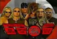 Dudley Boyz vs Edge and Christian vs The Brothers of Destruction