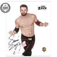 Sami Zayn Signed NXT Photo