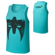 Ultimate Warrior Parts Unknown Teal Vintage Tank Top