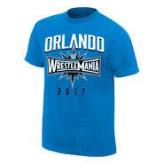 WrestleMania 33 Orlando Blue T-Shirt