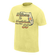 WrestleMania 33 Welcome to Florida Youth Yellow T-Shirt
