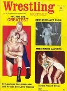 Wrestling Monthly - December 1971
