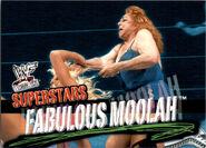 2001 WWF WrestleMania (Fleer) Fabulous Moolah 34