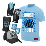 AJ Styles The House That AJ Built Youth T-Shirt Package