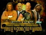 Mankind Vs Stone Cold Steve Austin And Triple H