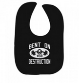 Mark Henry Bent On Destruction black bib