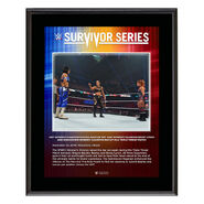 Shayna Baszler Survivor Series 2019 10x13 Commemorative Plaque