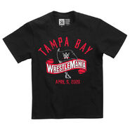 WrestleMania 36 Logo Youth T-Shirt
