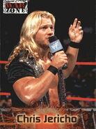 2001 WWF RAW Is War (Fleer) Chris Jericho 50
