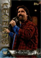 2017 Legends of WWE (Topps) Mick Foley 62