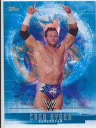 2017 WWE Undisputed Wrestling Cards (Topps) Zack Ryder 40