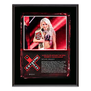 Alexa Bliss Extreme Rules 2018 10 x 13 Plaque