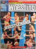 Sports Review Wrestling - July 1990
