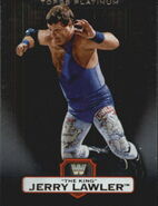 2010 WWE Platinum Trading Cards Jerry The King Lawler 33