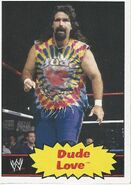 2012 WWE Heritage Trading Cards Dude Love 47