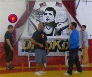Kurt Angle visits Dropkixx