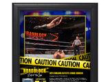 Seth Rollins RoadBlock 2016 15 x 17 Framed Plaque w Ring Canvas