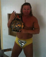 Tim Storm with Indy World Title Belt