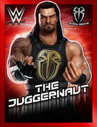WWE Champions Poster - 002 RomanReignsCurrent