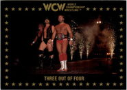 1991 WCW Collectible Trading Cards (Championship Marketing) Three Out Of Four 42