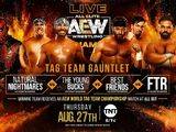 August 27, 2020 AEW Dynamite results