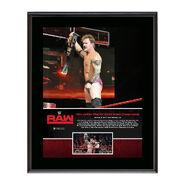 Chris Jericho First U.S. Championship Reign 10 x 13 Commemorative Photo Plaque