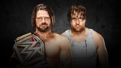 TLC 2016 Styles v Ambrose