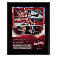 WrestleMania 36 Alexa Bliss & Nikki Cross 10 x 13 Limited Edition Plaque